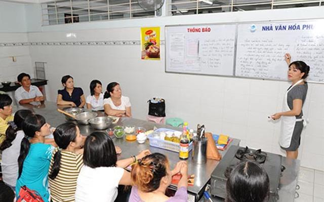 Lớp dạy học nấu ăn chuyên nghiệp