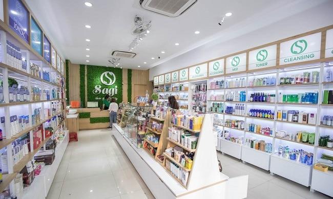 Shop mỹ phẩm Đà Nẵng Sagi Shop