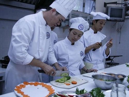 Trường dạy học nấu ăn ngon