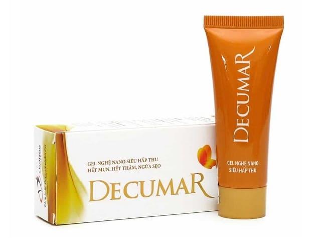 Kem trị mụn Decumar là Top 10 Thuốc / Kem trị mụn hiệu quả giá rẻ nào tốt nhất hiện nay
