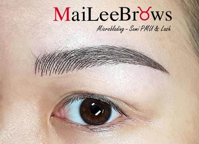 Maileebrows là Top 8 địa chỉ làm chân mày điêu khắc đẹp nhất TP. HCM