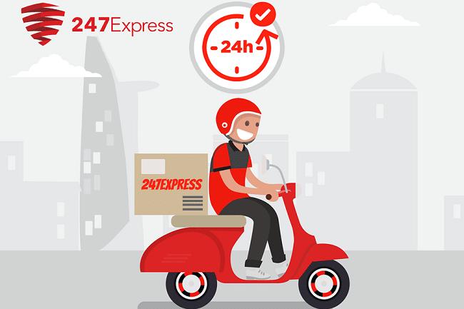 247 Express là Top 10 dịch vụ giao hàng nhanh & tiết kiệm nhất Việt Nam