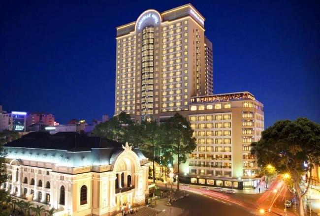 Khách sạn Caravelle là Top 10 Khách sạn 5 sao tốt nhất tại TPHCM