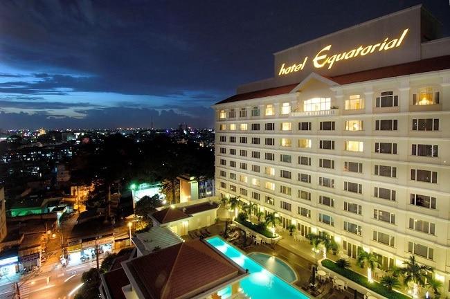 Equatorial là Top 10 Khách sạn 5 sao tốt nhất tại TPHCM