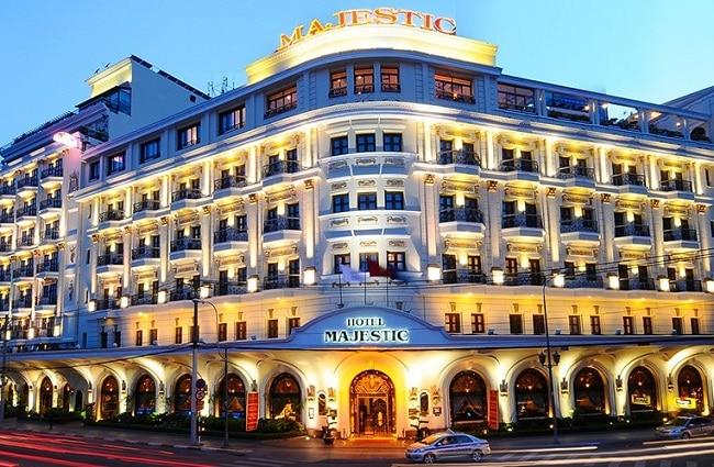 Majestic là Top 10 Khách sạn 5 sao tốt nhất tại TPHCM