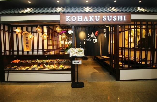 Kohaku Sushi là Top 10 Nhà hàng Nhật Bản nổi tiếng nhất tại TPHCM
