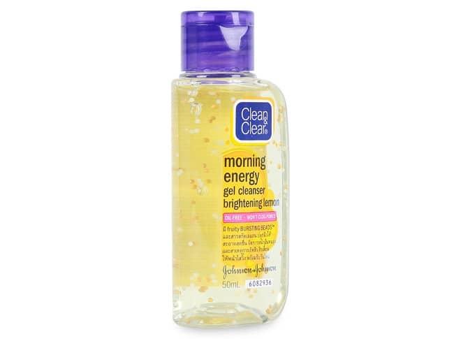 Sữa rửa mặt trị mụn Clean & Clear Morning Energy Gel Cleanser Brightening Lemon là Top 10 Loại Sữa Rửa Mặt Trị Mụn Hiệu Quả Nhất