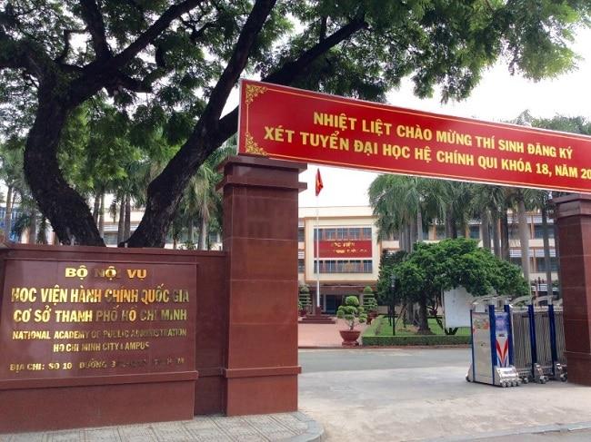 Học viện hành chính quốc gia là Top 15 Trường đại học, cao đẳng có học phí thấp nhất TP.HCM