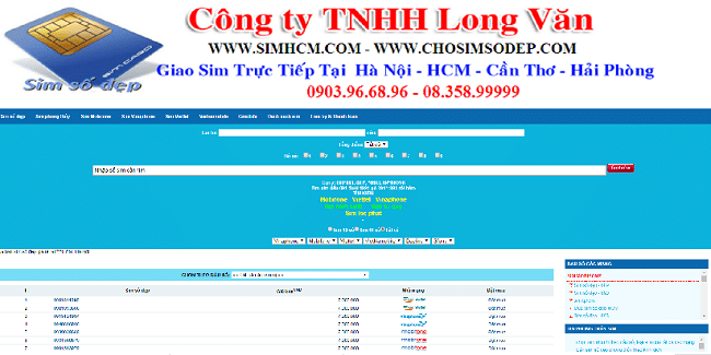Website simhcm.com là TOP 10 web bán sim số đẹp TPHCM uy tín giá rẻ