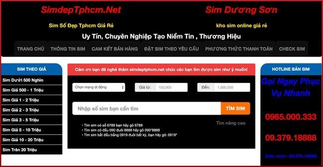 Web Sim Đẹp TP HCM là TOP 10 web bán sim số đẹp TPHCM uy tín giá rẻ