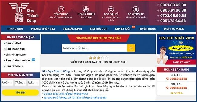 Web Sim Thành Công là Top 10 website bán sim số đẹp tphcm giá rẻ uy tín