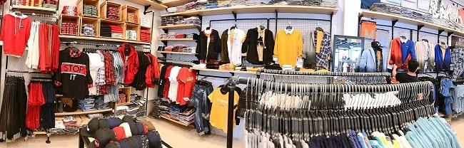 Cửa hàng quần áo nam rẻ
