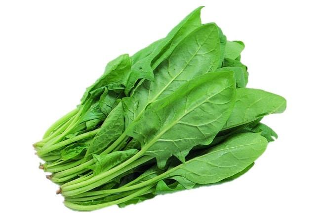Các loại rau có lá màu xanh sẫm là 10 loại thực phẩm giàu canxi mà bạn nên biết