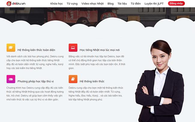 Website học tiếng Nhật Online tại nhà