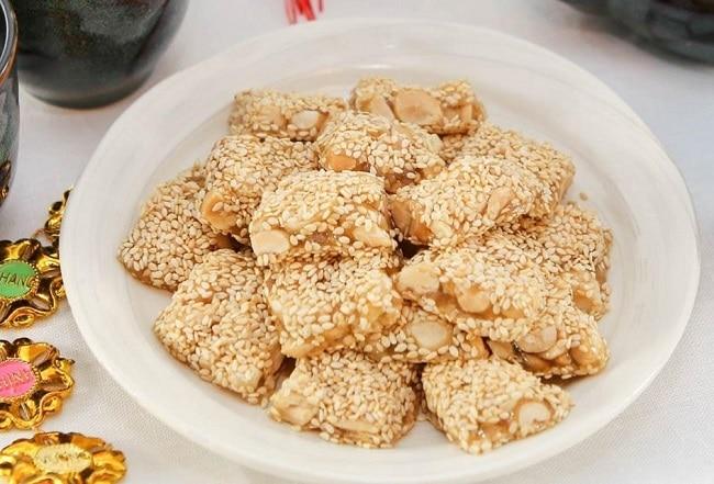Bánh khô mè - Thức quà nổi tiếng Đà Nẵng