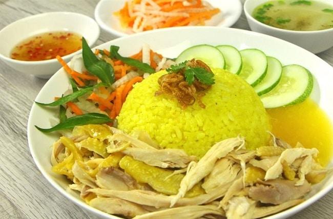 cơm gà đặc sản Đà Nẵng