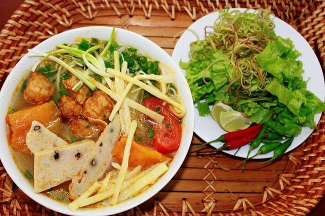 Bún chả cá đặc sản Đà Nẵng