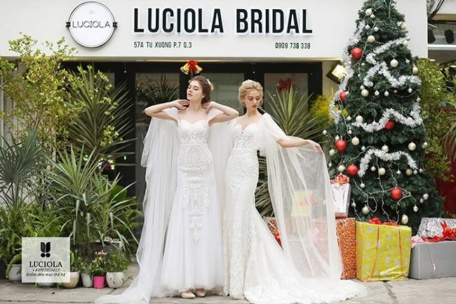 Luciola Bridal là Top 10 Địa chỉ cho thuê váy cưới đẹp nhất TPHCM