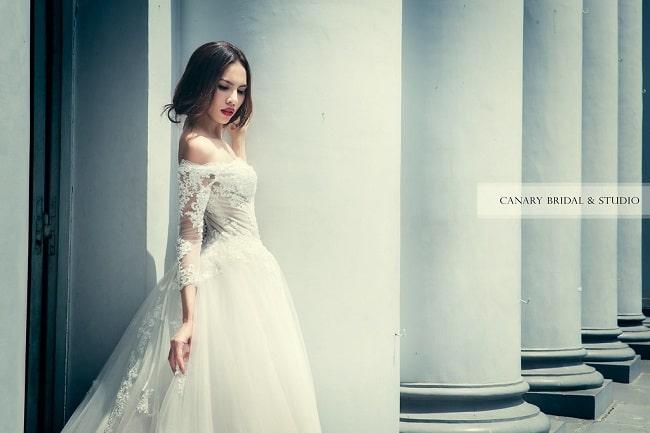 Canary Studio & Bridal là Top 10 Địa chỉ cho thuê váy cưới đẹp nhất TPHCM