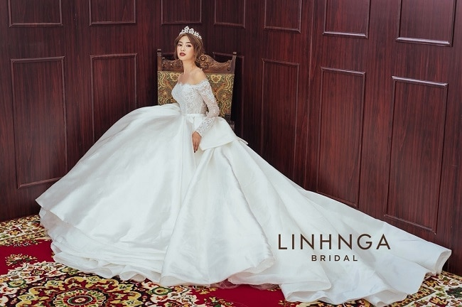 Linh Nga Bridal là Top 10 Địa chỉ cho thuê váy cưới đẹp nhất TPHCM
