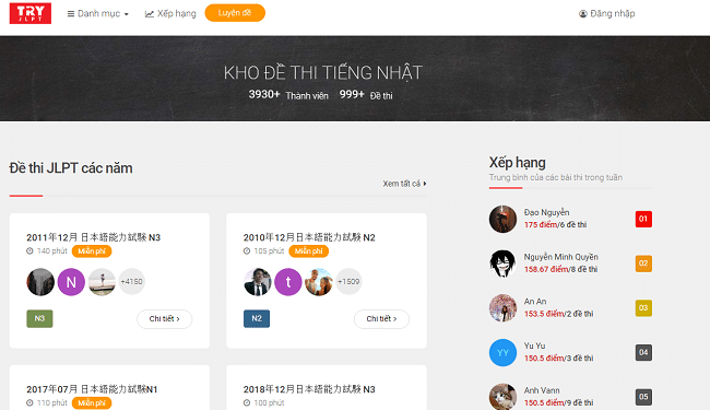 Học tiếng Nhật Online tốt nhất
