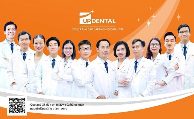 Nha khoa chuyên sâu về niềng răng Up Dental