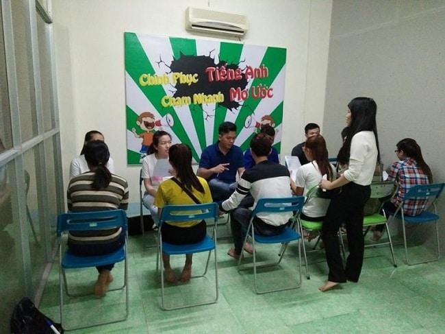 Trung tâm dạy học tiếng Anh uy tín