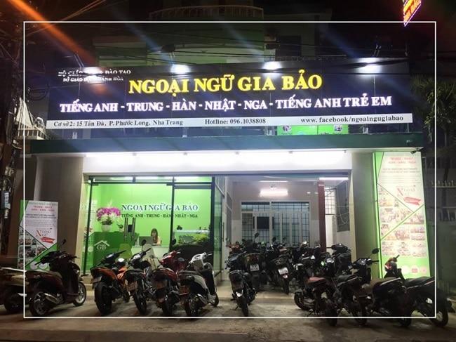 trung tâm tiếng Anh uy tín Nha Trang