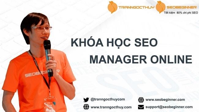 Đào Tạo SEO Manager Trần Ngọc Thùy