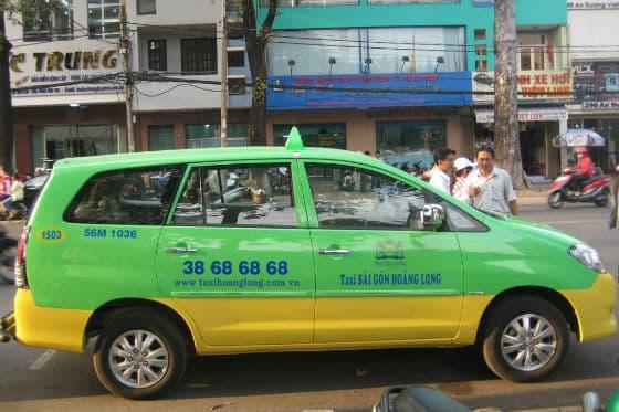 Hãng taxi tphcm
