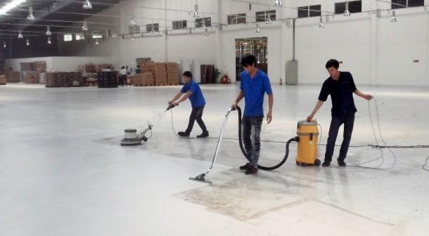 Dịch vụ vệ sinh nhà xưởng chuyên nghiệp