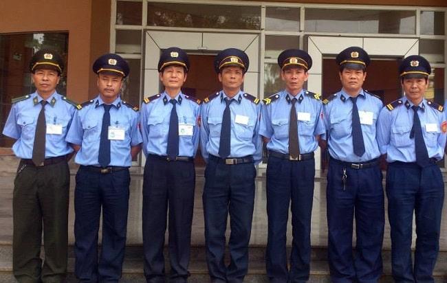 Công ty bảo vệ Hùng Vương