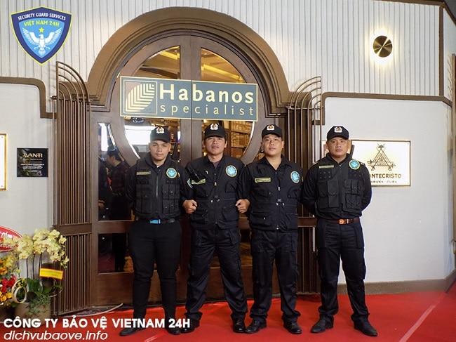 công ty bảo vệ 24h