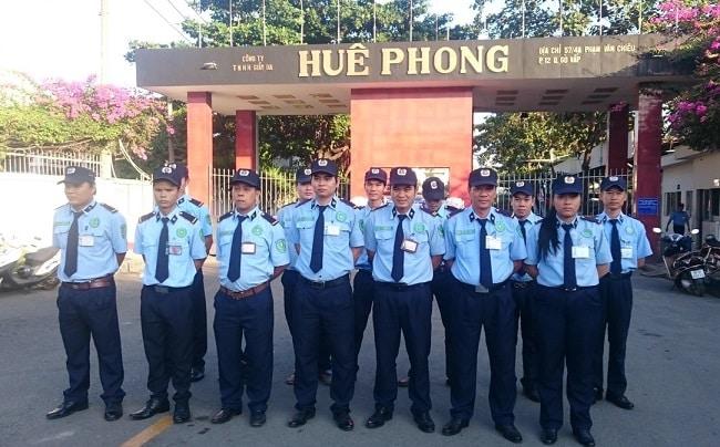 Công ty dịch vụ bảo vệ Anh Hào