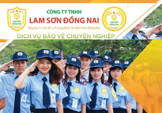 Công ty Dịch vụ bảo vệ Lam Sơn Đồng Nai
