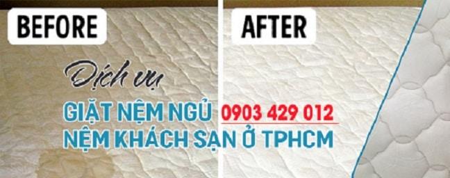 dịch vụ giặt nệm ngủ uy tín tại tphcm