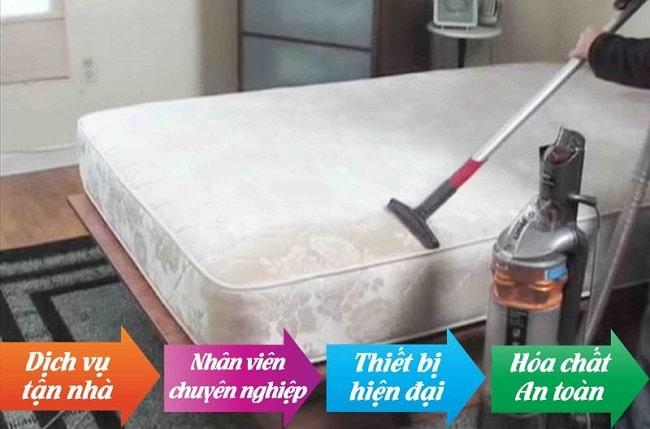 dịch vụ vệ sinh nệm chuyên nghiệp tại tphcm