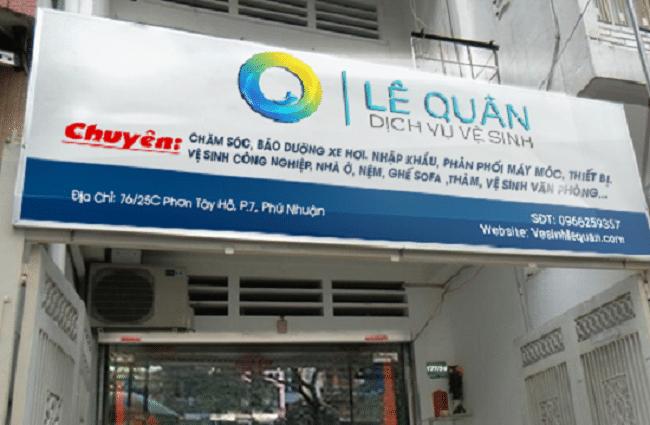 dịch vụ vệ sinh uy tín tại tphcm