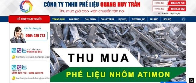 Phế liệu Quang Huy Trần