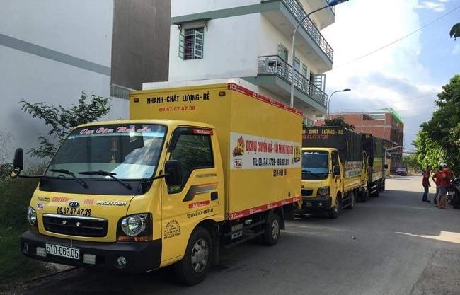 top dịch vụ chuyển nhà trọn gói tại tphcm