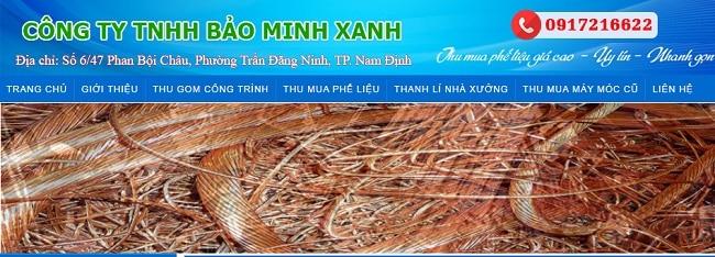Cty Bảo Minh Xanh