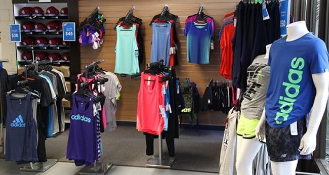 shop quần áo thể thao