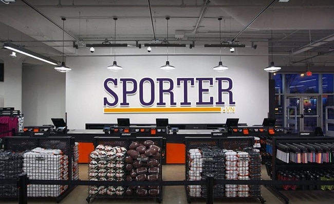 Shop quần áo thể thao sporter