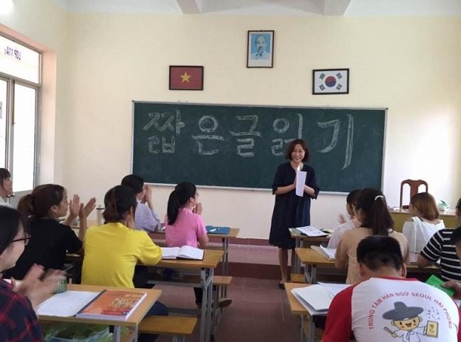 top trung tâm dạy tiếng hàn uy tín nhất tại nhà bè