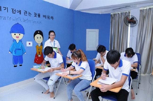 trung tâm dạy tiếng hàn ở quận 5