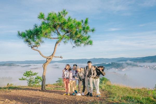Top 10 địa điểm chụp ảnh cưới Đà Lạt  - Đồi Thiên Phúc