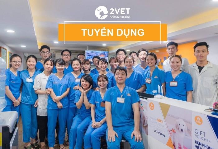 Top 10 phòng khám thú y uy tín nhất Hà Nội 2vet