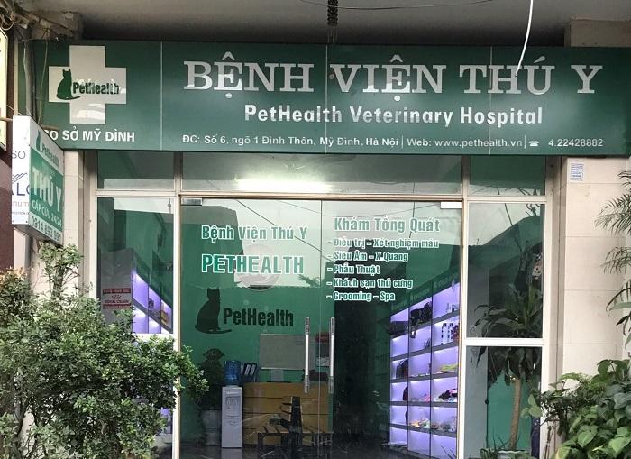Top 10 phòng khám thú y uy tín nhất Hà Nội pethealth