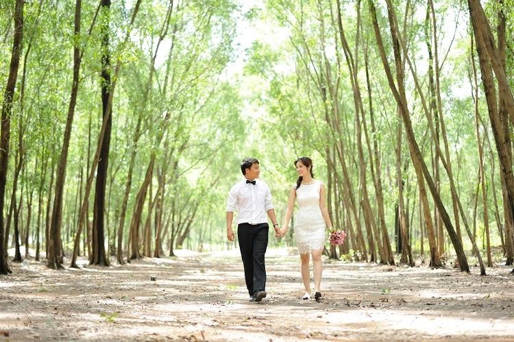 20 Địa điểm chụp ảnh cưới đẹp ở Sài Gòn đẹp nhất - Bò cạp vàng