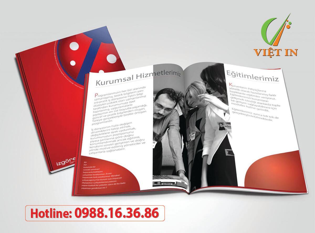 Top 5 dịch vụ in Catalogue giá rẻ nhất TPHCMviệt in